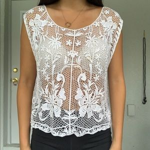 Abercrombie and Fitch floral shirt
